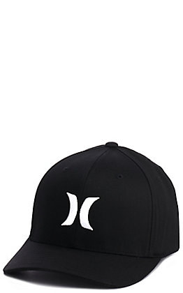 Hurley Black Logo Cap