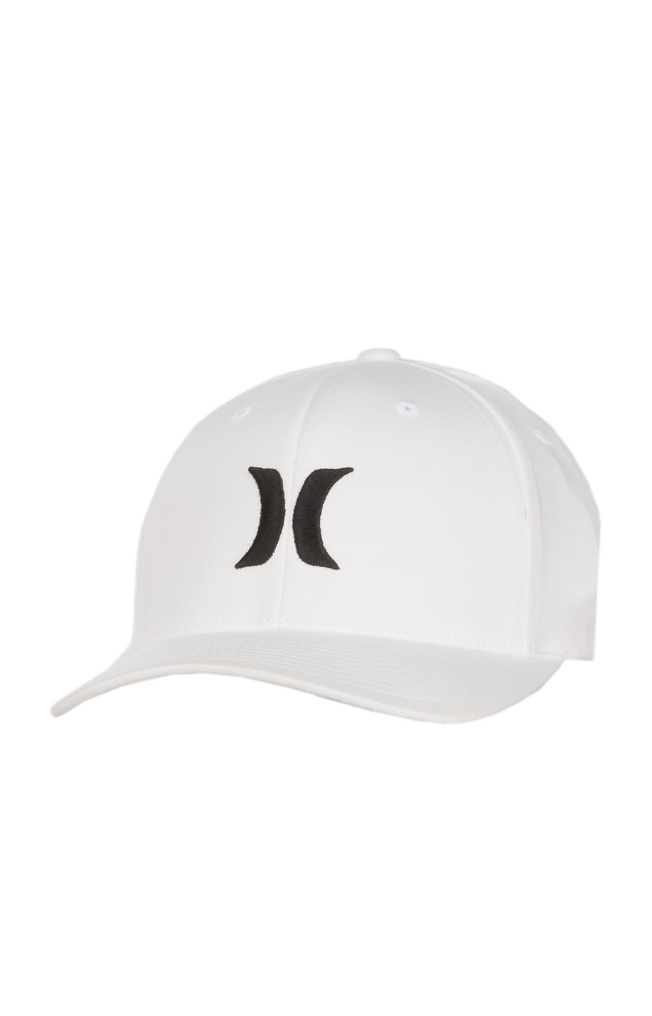 Hurley One and Only White with Black FlexFit Cap  b4326957337