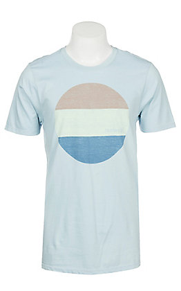 Hurley Men's Ocean Bliss Logo Graphic Short Sleeve T-Shirt