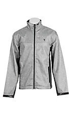 Panhandle Men's Grey Long Sleeve Bonded Jacket