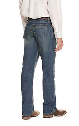Cinch Men's White Label Dark Stonewash Tint Relaxed Fit Straight Leg Jean