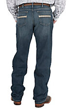 Cinch Men's Dark Wash with Open Pockets Relaxed Fit Jeans
