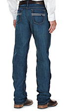 Cinch White Label Men's Dark Wash Line Embroidery Cavender's Exclusive Jeans