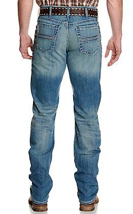 Cinch Men's White Label Light Wash Relaxed Fit Straight Leg Jeans