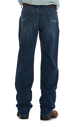 Cinch Men's Denim White Label Medium Wash Relaxed Straight Leg Jeans