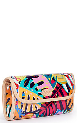 Consuela Maya Palm Print Go-To Clutch Wallet