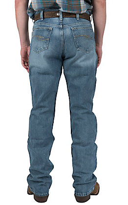 Cinch Men's Light Wash Dooley Mid Rise Boot Cut Jeans 93034007