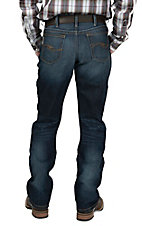 Cinch Men's Dark Wash Dooley Mid Rise Boot Cut Jeans 93034008