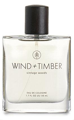 Men's Wind + Timber Vintage Woods Cologne