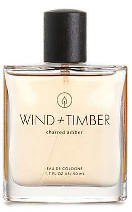 Men's Wind + Timber Charred Amber Cologne