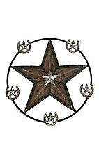 M&F Metal Western Star Wall Decor