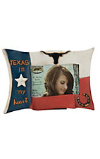 M&F Texas In My Heart 4x6 Picture Frame