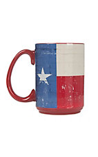 Western Moments Texas Flag Oversized Mug