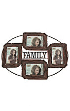 M&F Family Multi-Photo 4x6 Frame