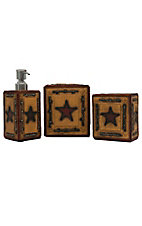 M&F Big Star Collection 3 Piece Vanity Set