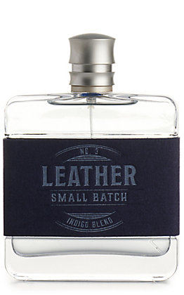 Men's Leather Small Batch No 3 Indigo Blend Cologne