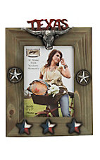 M&F  Lone Star Wooden 5x7 Picture Frame