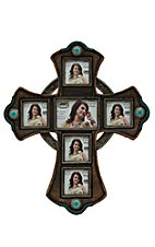 M&F Cross Photo Collage Frame
