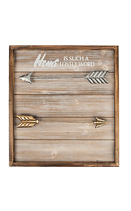 Western Moments Arrow Photo Holder