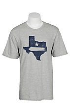 Men's Grey Texas Cannon Short Sleeve T-Shirt