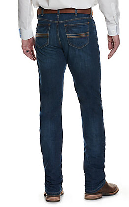 Cinch Silver Label Dark Stonewash Slim Fit Straight Leg Stretch Jean