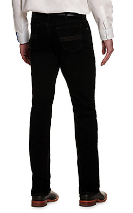 Cinch Men's Silver Label Black Slim Fit Straight Leg ArenaFlex Stretch Jean