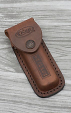 Case Tan Leather Trapper Sheath
