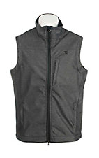 Panhandle Men's Grey Sleeveless Bonded Vest