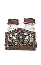 M&F Western Cross with Rhinestone Salt and Pepper Holder
