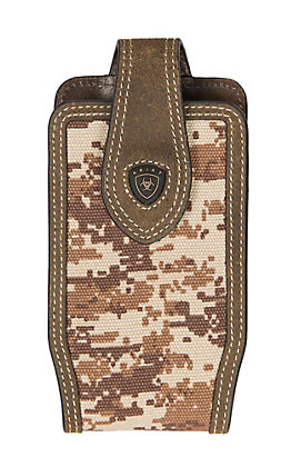 Ariat Patriot Tan Digi-Camo Print Small Cell Phone Case