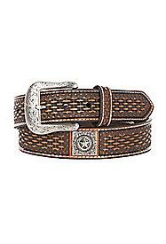 Men's Basket Weave Belts