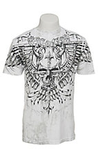 Affliction Men's White Lonsdale T-Shirt