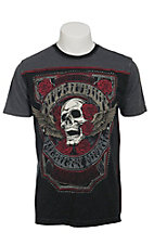 Affliction Men's Grey World Tour Shirt