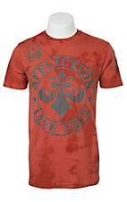 Affliction Men's Sienna Tea Stain T-Shirt