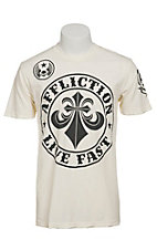 Affliction Men's White Crew Divio T-Shirt