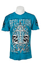 Affliction Men's Pacific Blue Revolution Tee