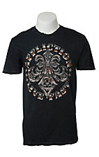 Affliction Men's Black Live Fast Tee