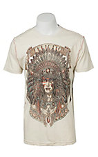 Affliction Men's Heavy Wind White T-Shirt