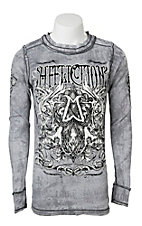 Affliction Men's Reversible Thermal
