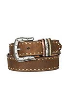 Ariat Women's Brown Laced Edge Western Belt