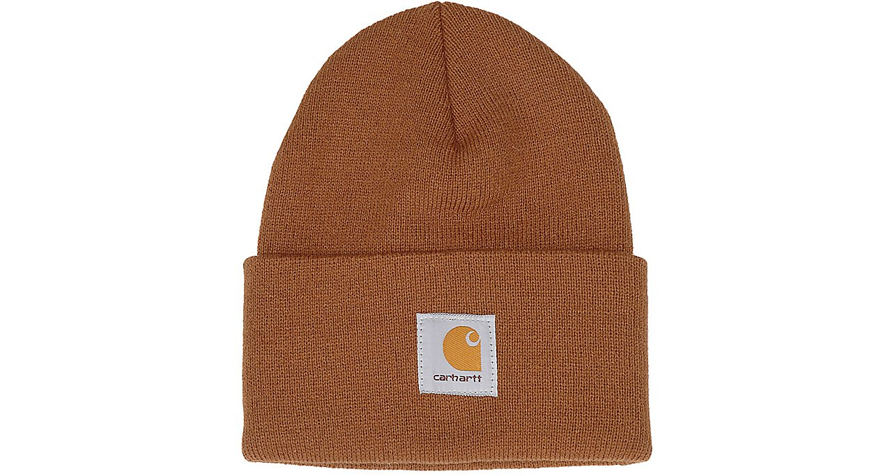 f0f1492d23e Carhartt Brown Acrylic Knit Watch Cap