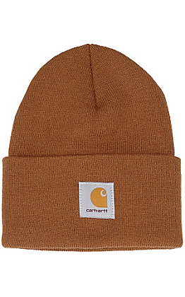 Carhartt Brown Acrylic Knit Watch Cap