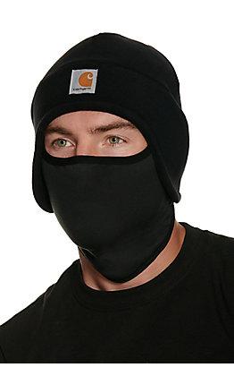 Carhartt Black Fleece 2-in-1 Headwear