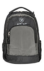 Ariat Basic Black and Grey Backpack