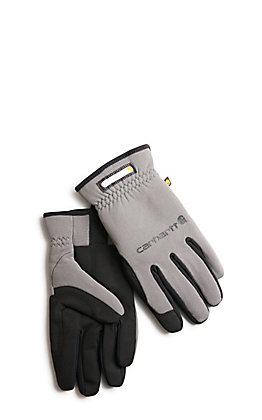 Carhartt Men's Grey Work Flex Gloves