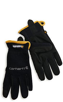 Carhartt Men's Black Work-Flex High Dexterity Work Gloves