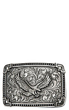 Montana Silversmiths Classic Antiqued Tied at the Corners w/ Soaring Eagle Attitude Buckle