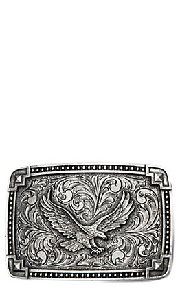 Montana Silversmiths Classic Antiqued Tied at the Corners with Soaring Eagle Attitude Buckle