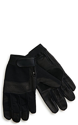 Carhartt Men's Black Dex II High Dexterity Work Gloves