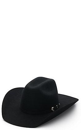 Ariat Kids' Black Cattleman Wool Cowboy Hat